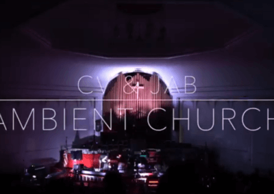CV & JAB live at Ambient Church NYC