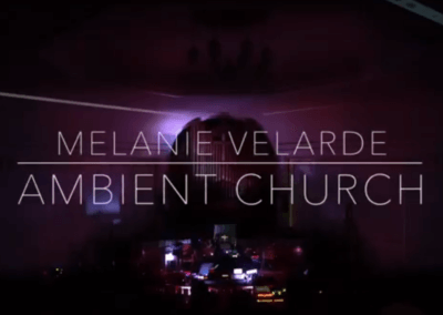 Melanie Velarde live at Ambient Church NYC