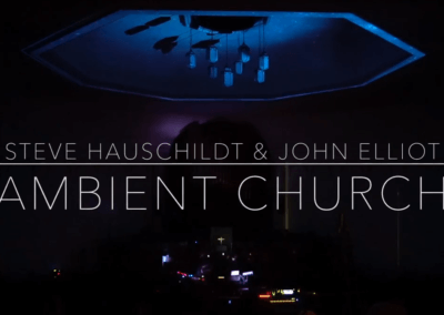Steve Hauschildt & John Elliott at Ambient Church NYC